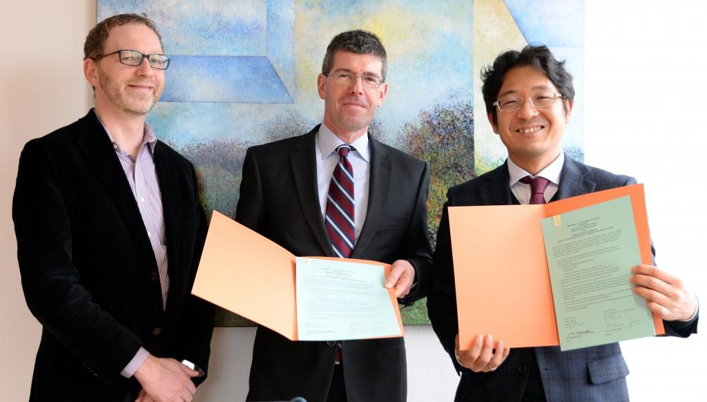 トリア大学との交流協定締結、Universität Trier